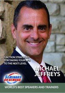 Michael Jeffreys DVD Cover |Motivational speaker